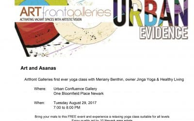 art & asanas – free yoga class presented by artfront galleries