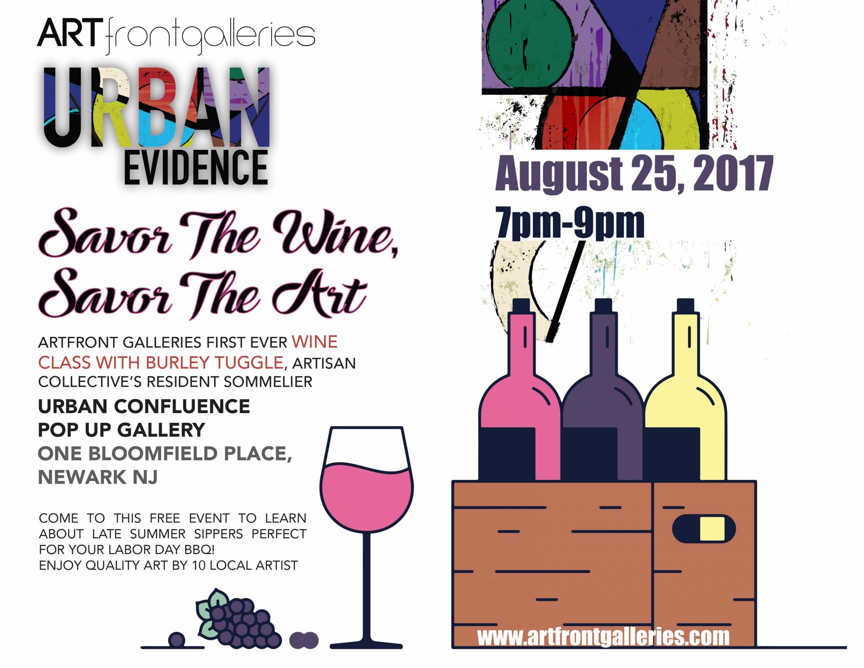 Savor the Wine, Savor the Art
