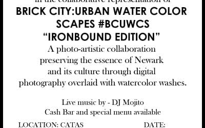 artfront galleries sponsors brick city: urban water color scapes