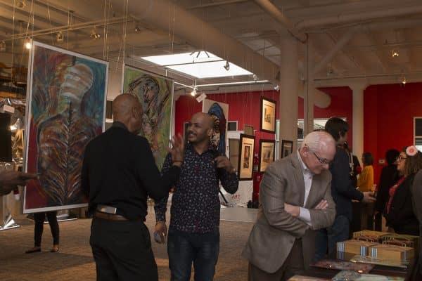 gallery night at atlas desk deemed a big success