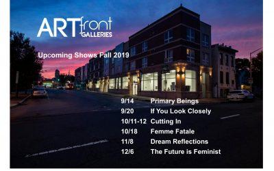 artfront galleries fall show schedule